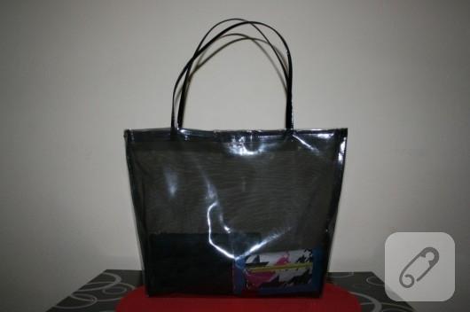 şeffaf çanta