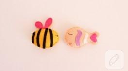Keçe arı ve balık