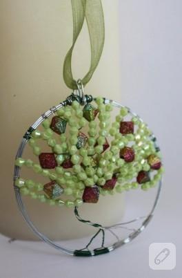 Ağaç temalı kolyem (bir avuç yeşil)