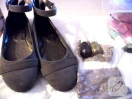 İlk giyilmede soyulan ayakkabının enfes sonu