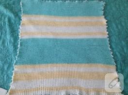 Pofidik bebek battaniyesi