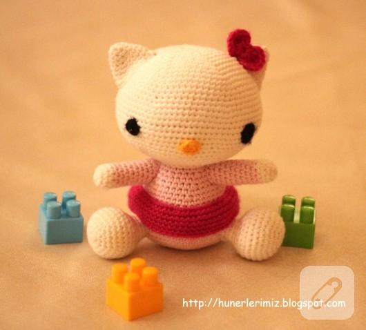 Amigurumi Tweety Yapilisi : amigurumi oyuncaklar