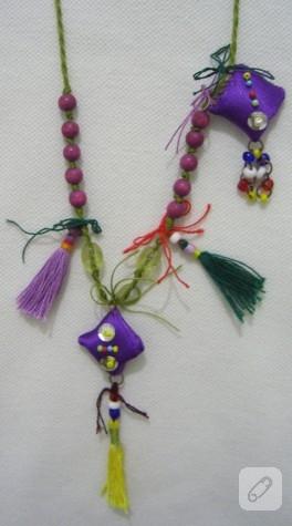 Ornitorenk Handmade muska kolyeler