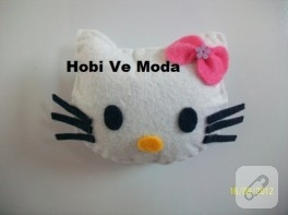 Keçe magnet Hello Kitty