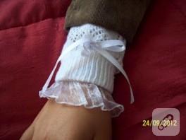 Eski çoraptan kolluk yapımı