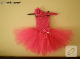 1- 3 yaş arası prenseslere harika tütü elbise