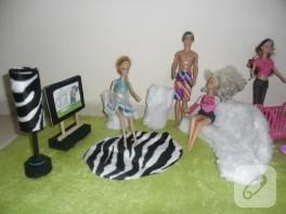 Barbie bebek evi eşyaları