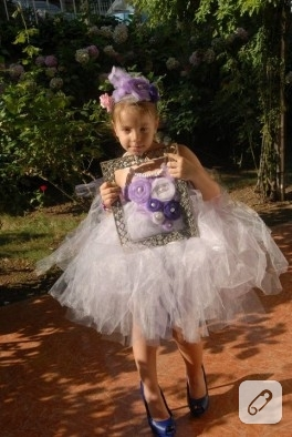 Gülka Mytütü'nün Lilalı Prensesi-tütü