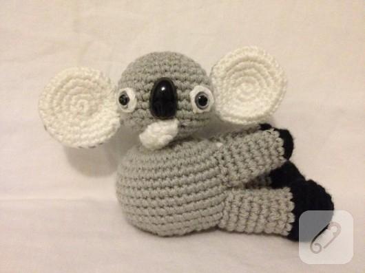 Llavero Koala Amigurumi : Amigurumi koala