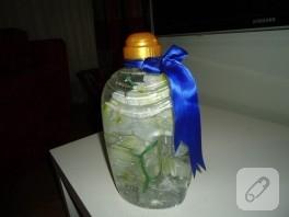 Geri dönüşüm plastik şişe