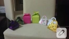 Bebek şekeri kutuları