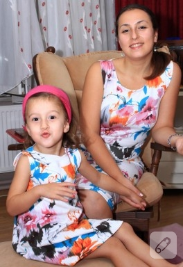 Anne-kız elbisemiz