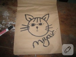 Kağıt çanta yapımı