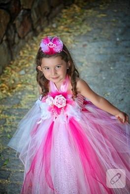 Yeni bir prenses tütü elbisesi daha…
