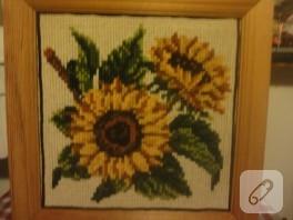 Günebakan çiçekleri duvar tablosu