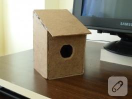 İlk kuş evi çalışmam
