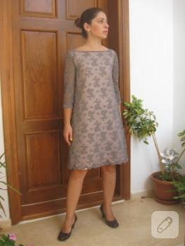 Ornitorenk Handmade'in dantel elbisesi