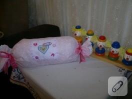 Bebek takı yastığı-Koruncuklar için