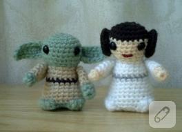 Örgü Star Wars karakterleri