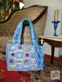 Kot kumaş çanta