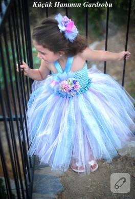 Mavi tütü elbise