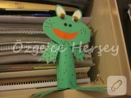 Çocuk etkinlikleri – kağıttan kurbağa yapımı