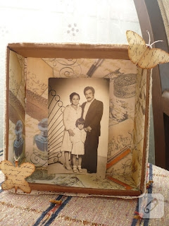 vintage tarzı çerçeve