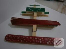 Tahtadan uçak yapımı (mandal yardımıyla)