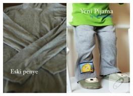 Çocuk pijaması (kendin yap)