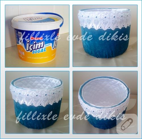 Yoğurt kovası değerlendirme