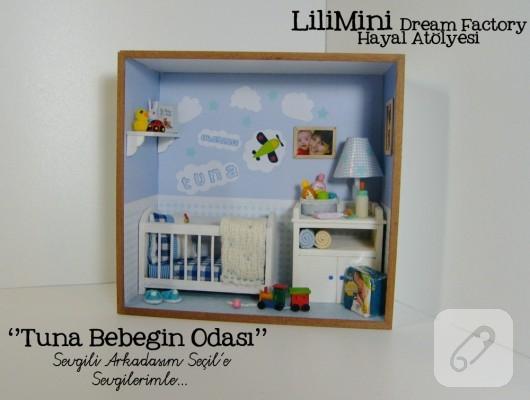 Minyatür bebek odası