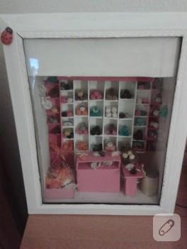 Minyatür yüncü dükkanı