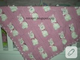 Tavşan battaniye