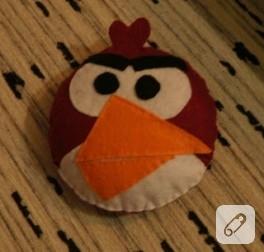 Keçe oyuncak; angry birds