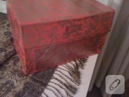 Karton kutudan hediye kutusuna