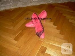 Ayakkabı süslemece-yenilemece