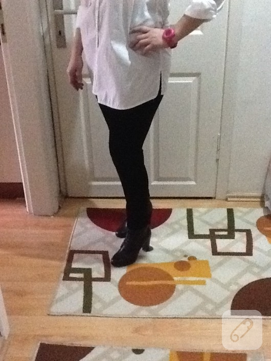 kadife pantolon tayt