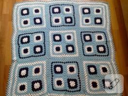 Mavi battaniye