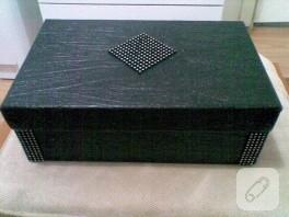 Dekoratif kutu yapımı