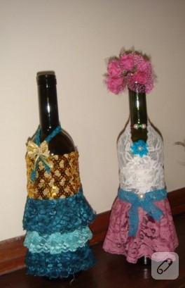 Şişeden dekoratif vazoya – 2013 yılbaşı yarışması