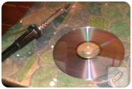 CD'ler duvara…