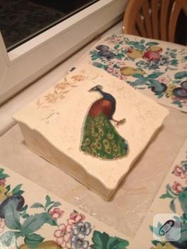 Dekoratif çay kutusu