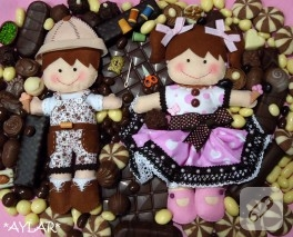 Çikolata sepetimden misafir var!