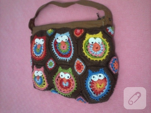 Baykuş çanta