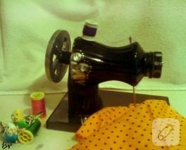 Plastik şişeden dikiş makinesi – 2013 yılbaşı yarışması