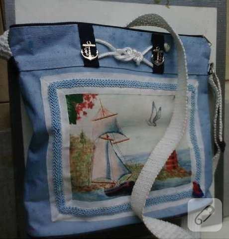 Geri dönüşüm çanta