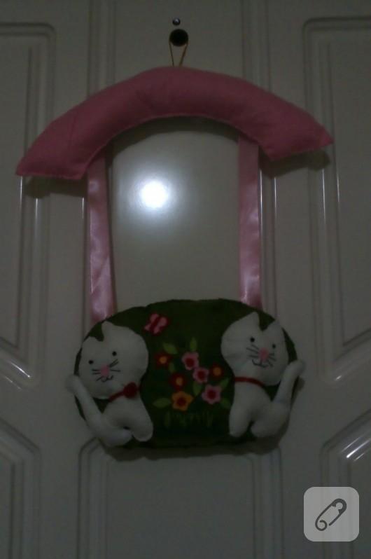 Keçe kapı süsleri