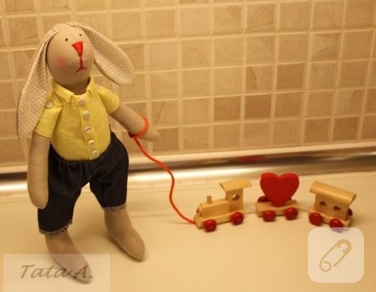 Oyuncak tavşan