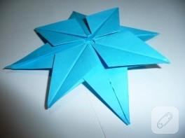 Origami boyutlu yıldız