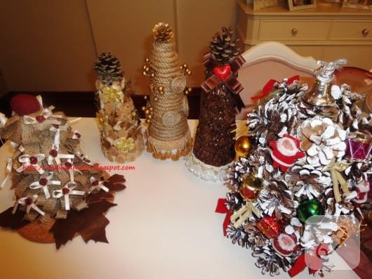 dekoratif yılbaşı ağacı